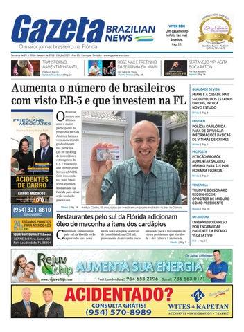 1e8a3eb9f6f05 Gazeta Brazilia News - Edição 1128 - De 24 a 30 de Janeiro de 2019 ...