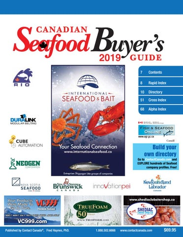 Canadian Seafood Buyer's Guide by Contact Canada - issuu