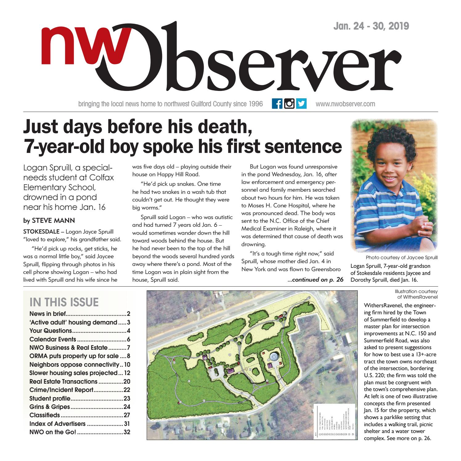 Northwest Observer I Jan  24 - Jan  30, 2019 by pscommunications - issuu