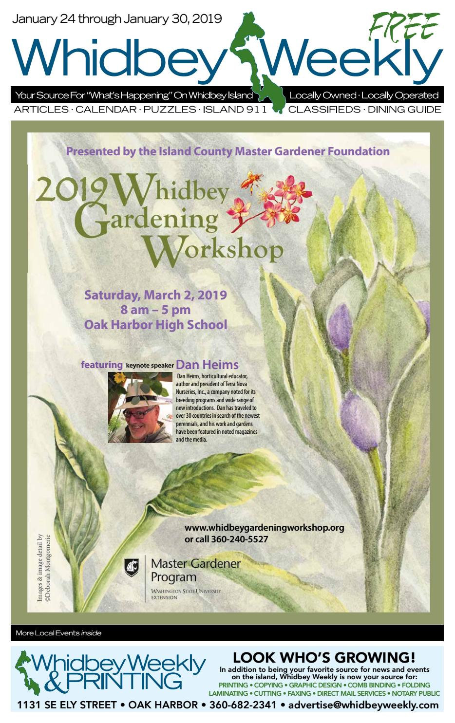 Whidbey Weekly, January 24, 2019 by WhidbeyWeekly com - issuu