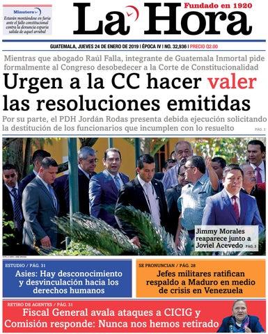 807cae86a53 La Hora 24-01-2019 by La Hora - issuu