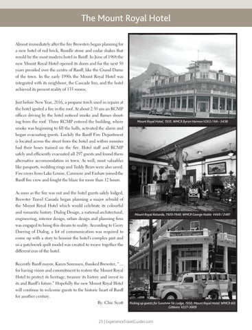 Page 23 of The Mount Royal Hotel