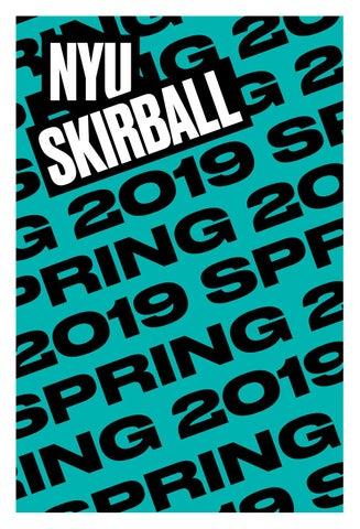 Nyu Skirball Season Brochure Spring 2019 By Nyuskirball Issuu