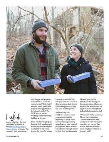 Page 103 of Beyond Your Wildest Dreams: Mystic's Denison Pequotsepos Nature Center