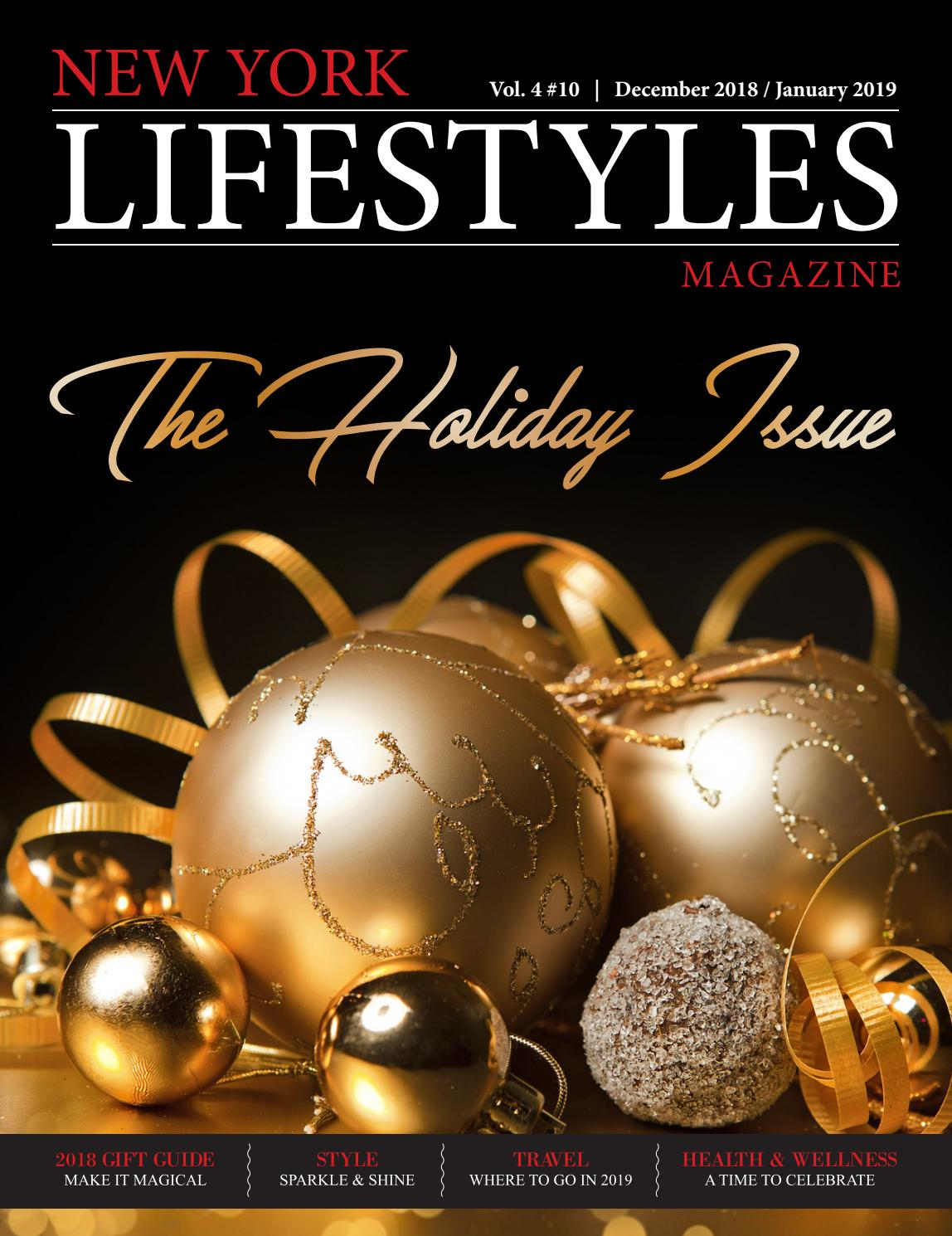 2cb7e7b86ddb New York Lifestyles Magazine - December 2018   January 2019 by New York  Lifestyles Magazine - issuu