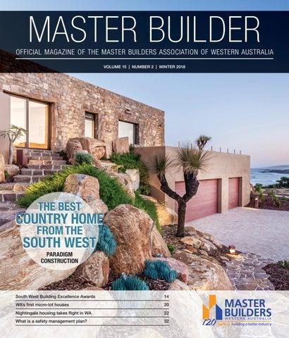 Master Builder WA Winter 2018 by arkmedia4217 - issuu