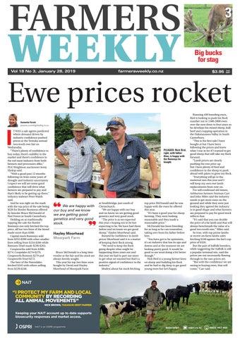 Farmers Weekly NZ January 14 2019 by Farmers Weekly NZ - issuu eee135e7e440