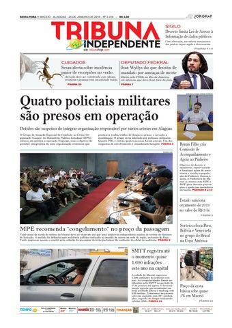 a17b1e5cc6 SEXTA-FEIRA n MACEIÓ - ALAGOAS - 25 DE JANEIRO DE 2019 - Nº 3.318 -