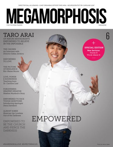 0d9c48fed22 Megamorphosis Magazine Issue 6 - Empowered by Megamorphosis Magazine ...