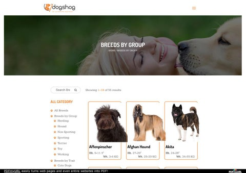 Best Dog Breeds Selector | Best Dog breeds By Group in india | List