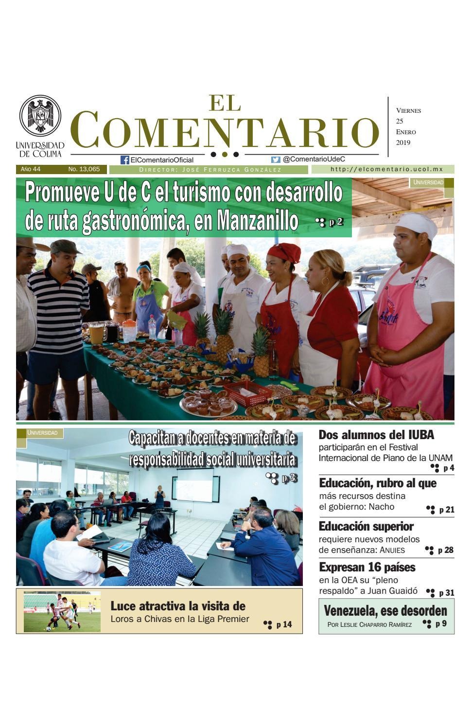 Edición del viernes by Pepe Ferruzca - issuu 42a09fa433316