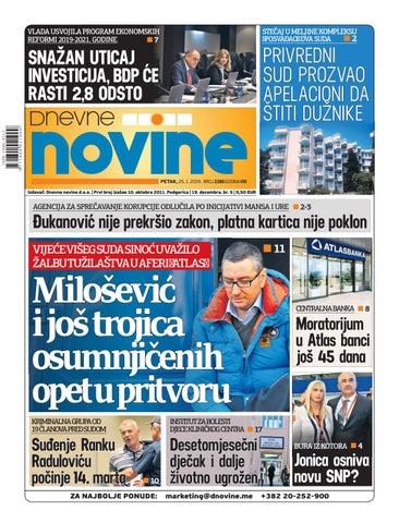 6c23f1b4e69f Dnevne novine 25. januar 2019. by Dnevne Novine - issuu