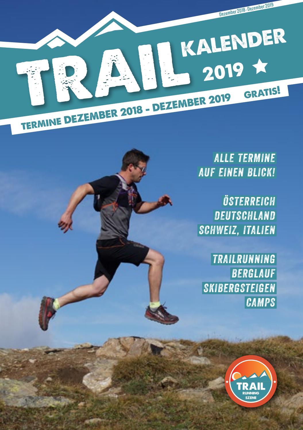 Trail Kalender 2019 by Trailrunning Szene issuu