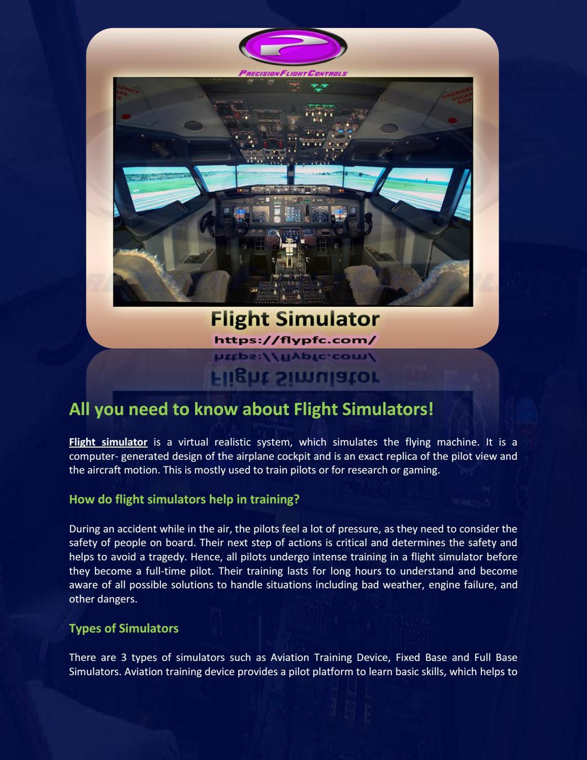 Flight Simulation by flypfc818 - issuu