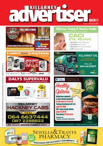 6ec3cdc2ee Killarney Advertiser 25 January 2019 by Killarney Advertiser - issuu