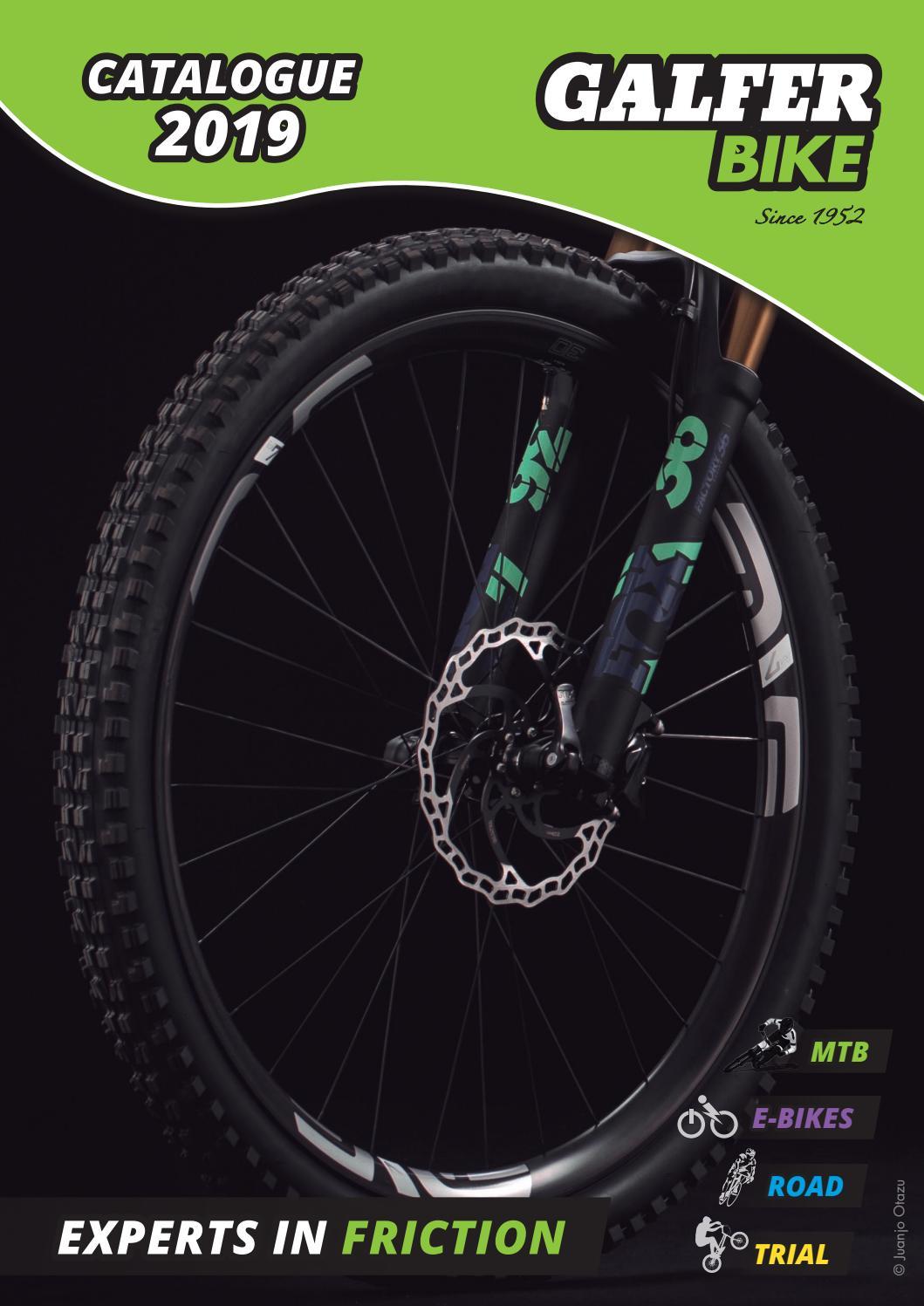 Galfer mountain bike brake pads for Shimano Deore BR-C601//BR-M416//BR-M445//BRM446