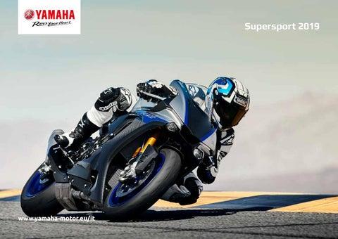 Gamma Yamaha Supersport 2019 By Yamaha Motor Europe N V Filiale