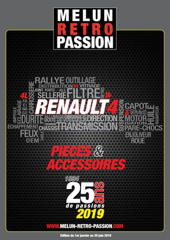 Catalogue Renault 4 Melun Retro Passion by MELUN RETRO PASSION - issuu
