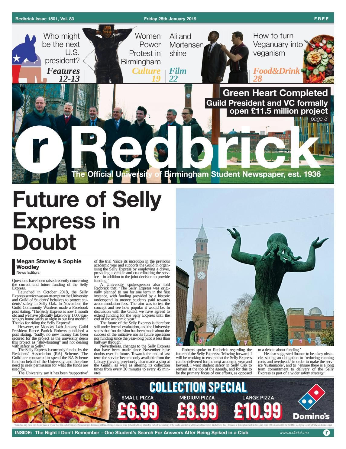 02e6e0ba Issue 1501 by Redbrick - issuu