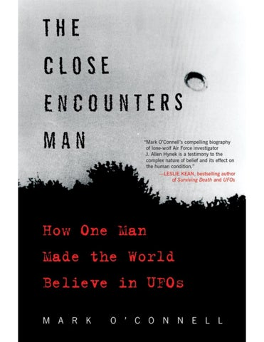 The Close Encounters Man Mark Oconnell By Mach4c Issuu