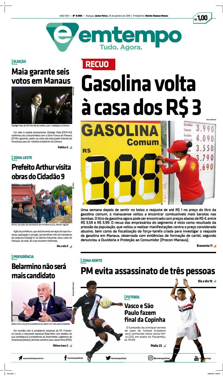 ce73137594 Em Tempo - 25 de Janeiro de 2019 by Amazonas Em Tempo - issuu
