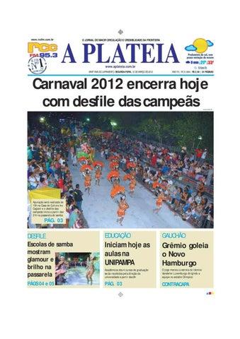 Jornal A Platéia Nº 21 664 by Portal Academia do Samba - issuu