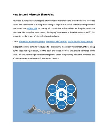 SharePoint Security by Veelead Solutions - issuu