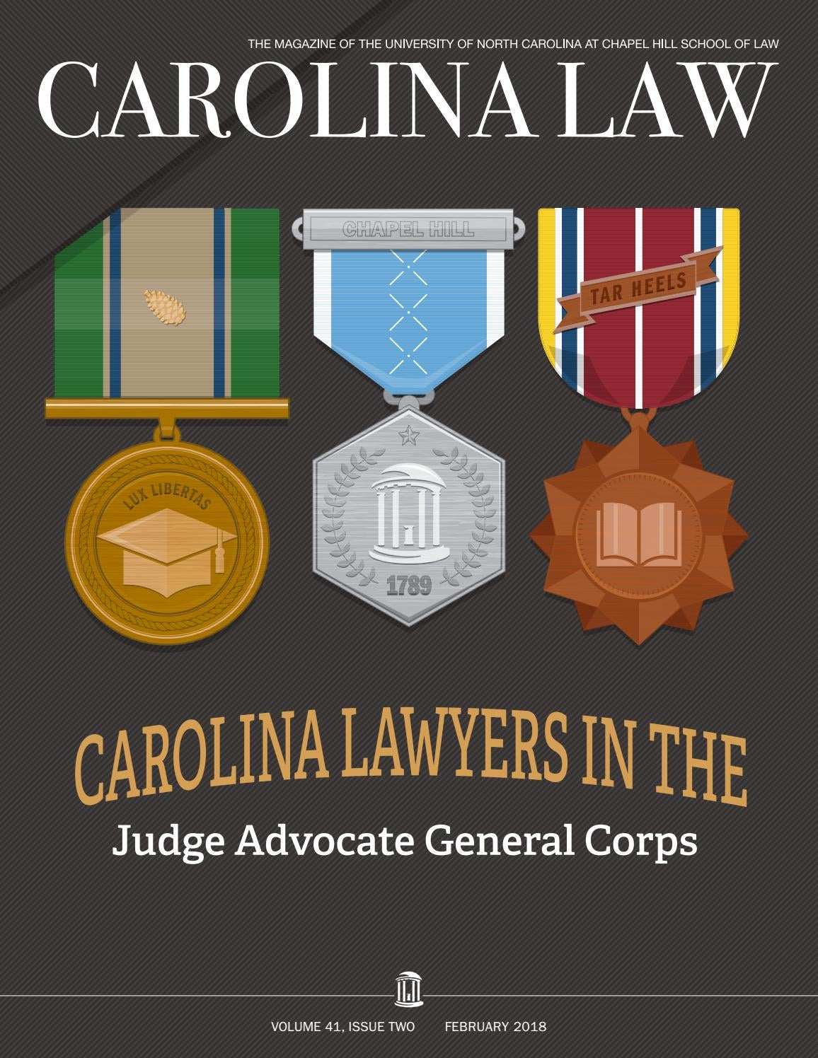 acf867b3795 Carolina Lawyers in the Judge Advocate General Corps (February 2018) by UNC  School of Law - issuu