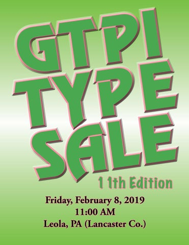 659858afe9d GTPI-TYPE 11th Edition Sale by Daniel Brandt - issuu