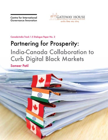 Partnering for Prosperity: India-Canada Collaboration to Curb