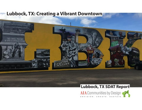 Lubbock, TX SDAT Report by AIACxD - issuu