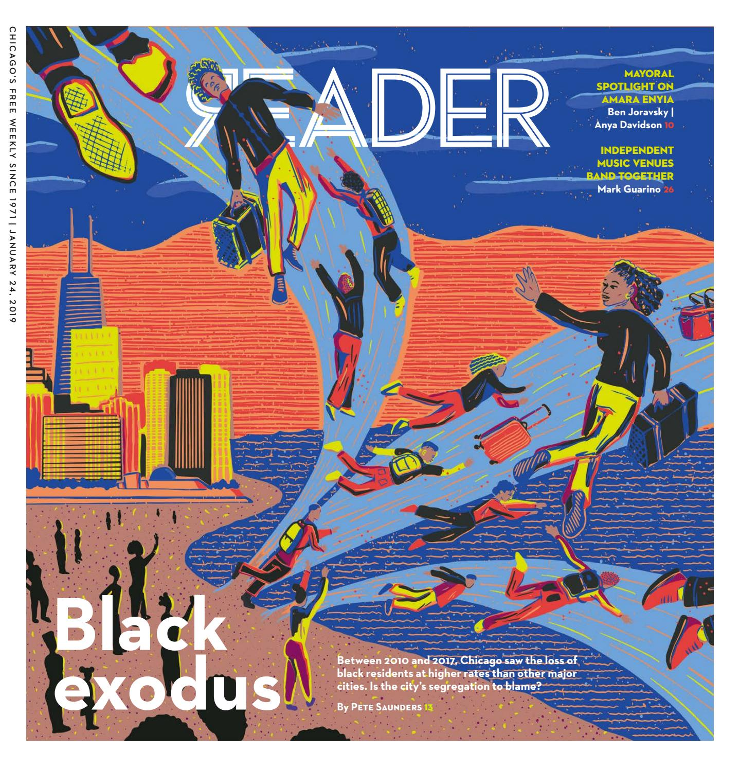 low priced b1c2d c7dff Print Issue of January 24, 2019 (Volume 48, Number 16) by Chicago Reader -  issuu