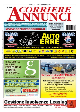 sports shoes e8c29 4e131 Corriere 4-2019 by Corriere Annunci - issuu