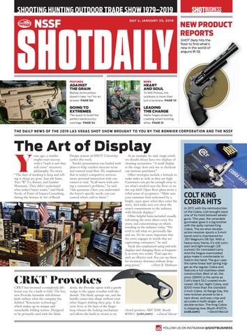 fe8a13262603f SHOT Daily - Day 4 - 2019 SHOT Show by SHOT Business - issuu