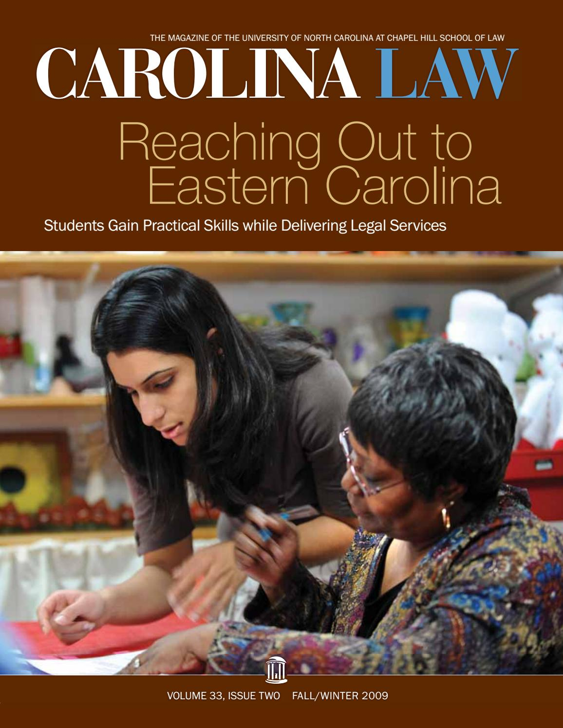 Reaching Out To Eastern Carolina Students Gain Skills While Delivering Legal Services Fall 2009 By Unc School Of Law Issuu Meeting materials are posted by friday afternoon prior to the. reaching out to eastern carolina