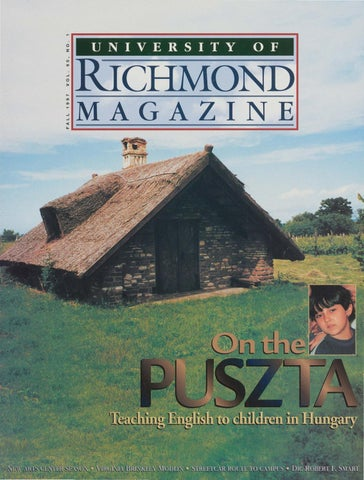 University of Richmond Magazine Fall 1997 by UR Scholarship