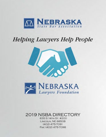 9522f745862 2019 NSBA Bar Directory by Elisa Oria - issuu