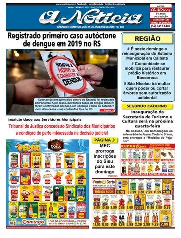 Edição dia 26 e 27 de janeiro de 2019 by Jornal A Notícia - issuu c7e6114c96a98