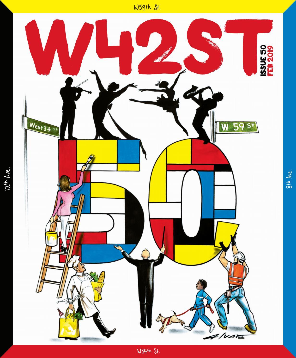 W42ST - The big 50 by W42ST Magazine - issuu