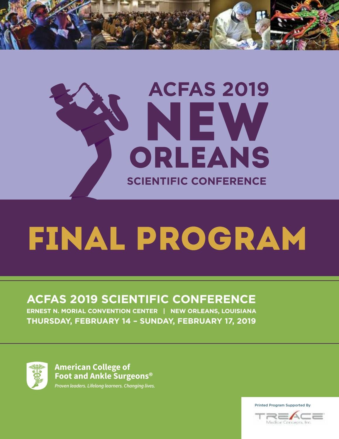 4ad361b1a83 ACFAS 2019 Annual Scientific Conference Program by ACFAS - issuu