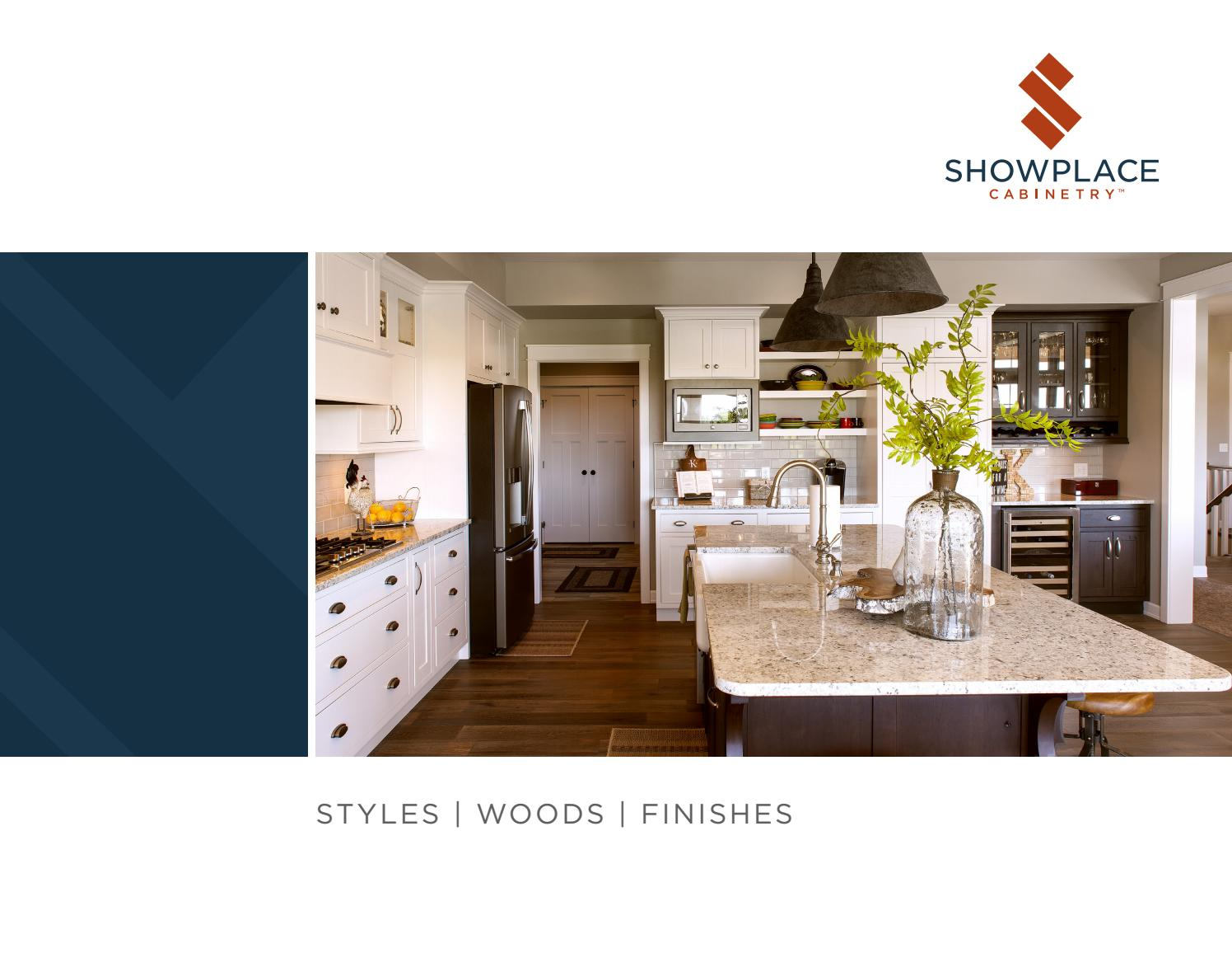 Showplace Cabinetry Styles Woods Finishes By Showplace Wood Products Issuu
