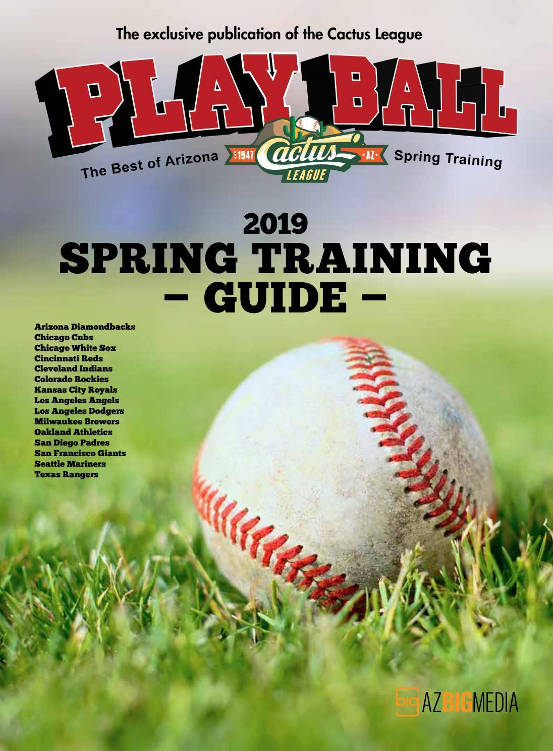 12bc796b4c1 Playball 2019 - The Best of Arizona Spring Training by AZ Big Media ...