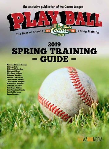 b97e189458411 Playball 2019 - The Best of Arizona Spring Training by AZ Big Media ...