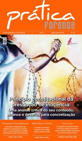 b40d259eb0848 Revista Prática Forense nº 24. Ano II, 2018 by Alexsander Carvalho ...