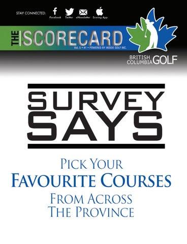 size 40 6f046 0dc14 British Columbia Golf - The Scorecard Magazine Vol.