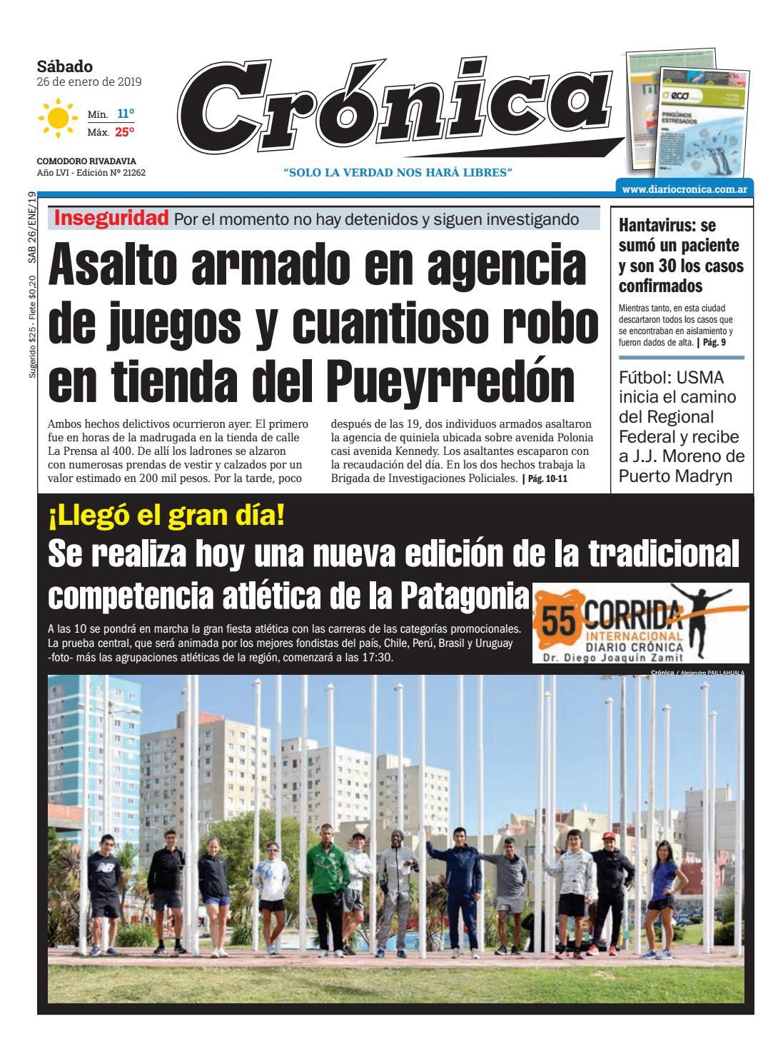 a2fa2305de070 Diario cronica 26 01 2019 by Diario Crónica - issuu