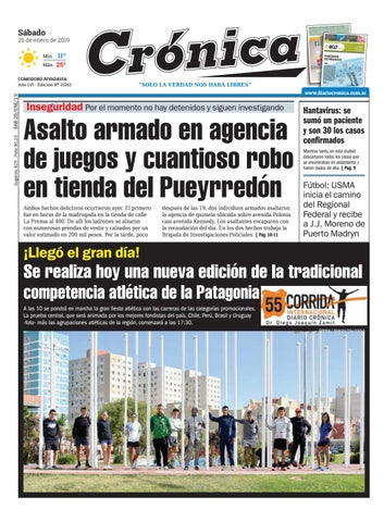 Diario cronica 26 01 2019 by Diario Crónica - issuu a6b3da8361695