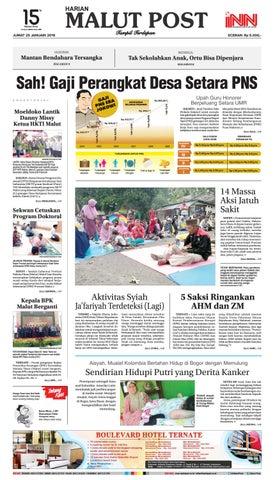 Sah! Gaji Perangkat Desa Setara PNS by Malut Post - issuu 667ad419ba