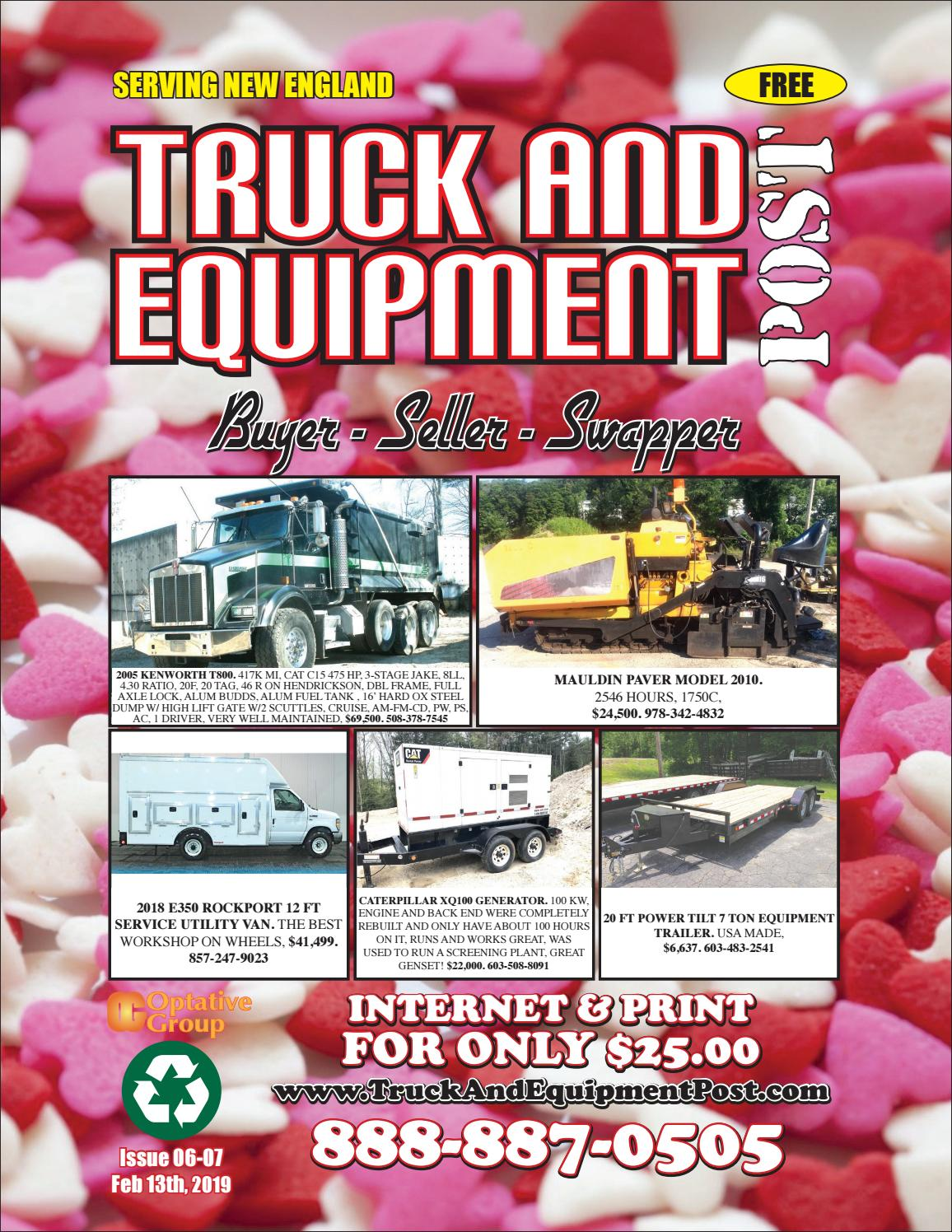 Truck And Equipment Post - Issue 06-07, 2019 by 1ClickAway
