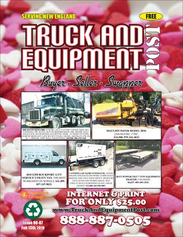 Truck And Equipment Post - Issue 06-07, 2019 by 1ClickAway - issuu on